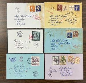 Wonderland Cinderella poster stamp group of 40 covers