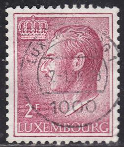 Luxembourg 422 Hinged 1966 Grand Duke Jean