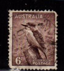 Australia - #173 Kookaburra (Perf 15 x 14) - Used