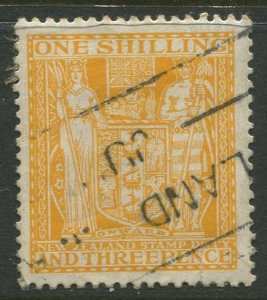 STAMP STATION PERTH New Zealand #AR47 Postal Fiscal Issue Used 1967 CV$9.00