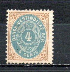 Danish West Indies 18 MH