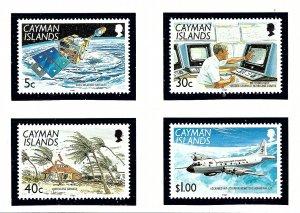 Cayman Is 628-31 MNH 1991 Hurricane Awareness    (KA)