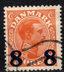 Denmark #161 F-VF Used CV $5.00 (V5429)