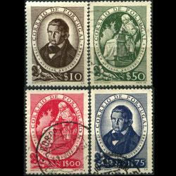 PORTUGAL 1944 - Scott# 638-41 Botanist Broter Set of 4 Used