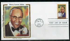 UNITED STATES  COLORANO  1993 PERCY LAVON JULIAN  FIRST DAY  COVER