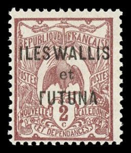 Wallis and Futuna Islands 2 Mint (NH)