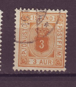 J25601 JLstamps 1898-1902 iceland used #o10 perf 13