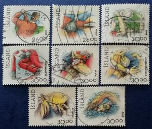 Iceland Sports Stamps Scott # 706-711B Used (I691)