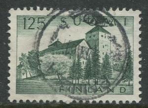 Finland - Scott 411 - Turku Castle -1963- Used - Single 1.25m Stamp