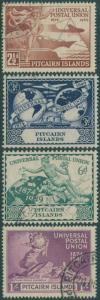 Pitcairn Islands 1949 SG13-16 UPU set FU