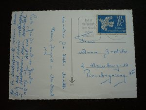 Europa 1961 - Ido Europa Label used as postage in Hamburg