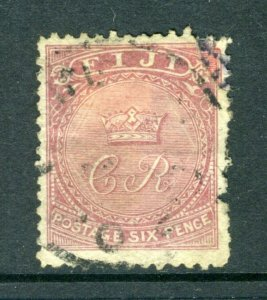 Fiji #17 - Crown and CR (USED but has small flaws) cv$325.00