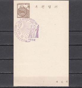 South Korea, Human Rights Cancel on a Postal Card. ^