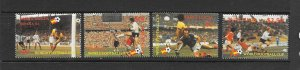 ST LUCIA #578-81 WORLD CUP 1982 MNH