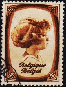 Belgium.1938 10c+5cS.G.831 Fine Used