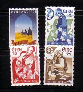 Ireland Sc 848-1 1991 Christmas stamp set mint NH