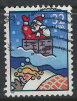 USA Used  SC# 3110 Santa Claus Christmas 1996 see details
