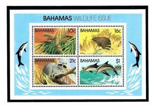 Bahamas 517a MNH 1982 Wildlife S/S