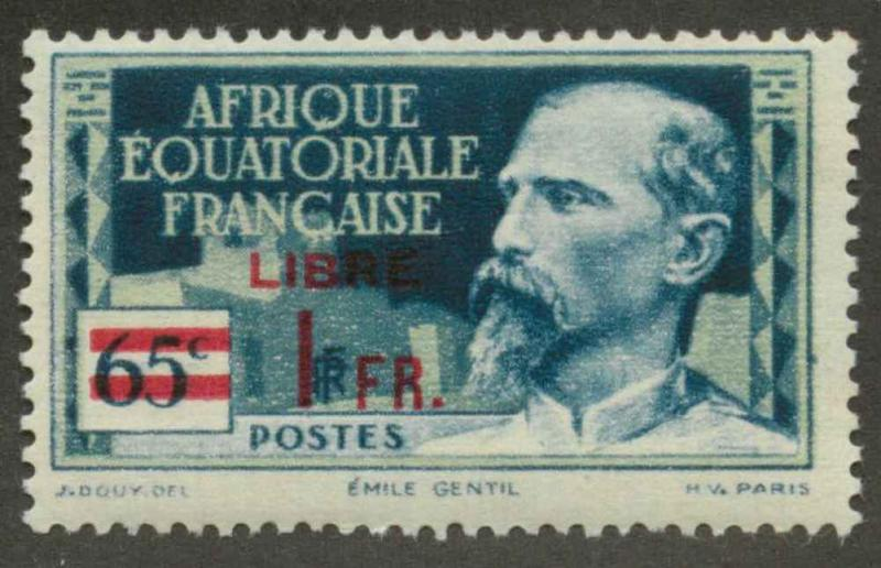 French Equatorial Africa 127 Mint F-VF H