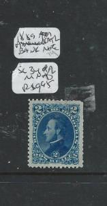 HONDURAS (P0806B) 2R SC 34  MNH