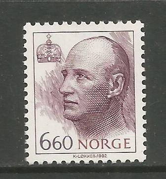 NORWAY, 1015, MNH, KING HARALD