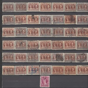 COLLECTION LOT OF # 893 NEWFOUNDLAND 43 STAMPS 1928+ CLEARANCE UNCHECKED CV+$22
