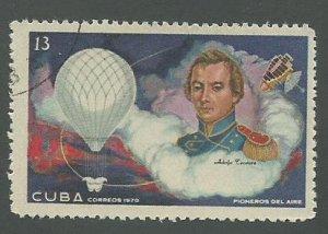 1970 Cuba Scott Catalog Number 1515 Used