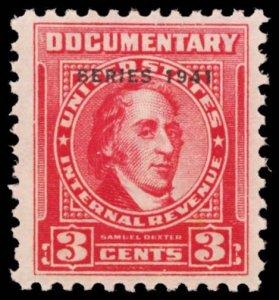 U.S. REV. DATED REDS R313  Mint (ID # 100933)