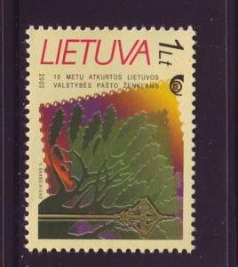 Lithuania Sc 676 2000 10th anniv stamps stamp mint NH