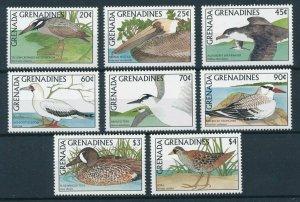 [108820] Grenada Grenadines 1988 Birds Ducks Heron Pelican Teal Tern Booby  MNH