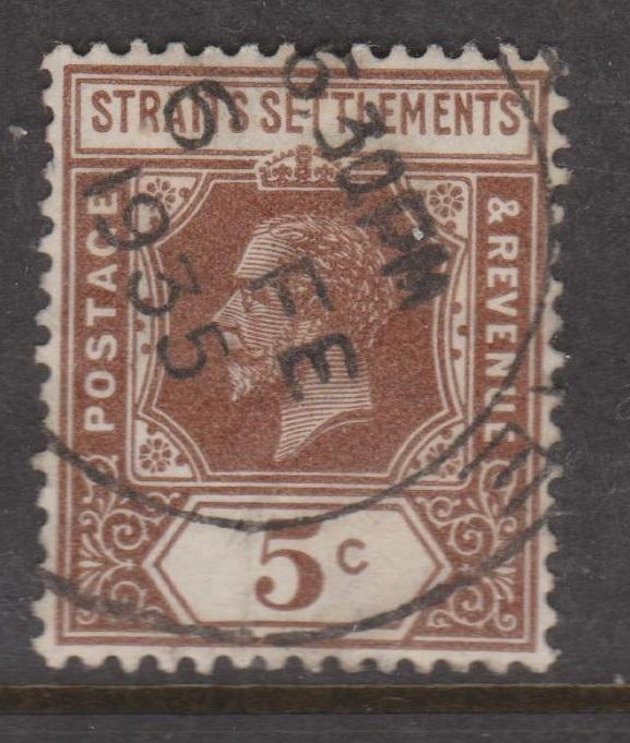 Straits Settlements Sc#187a Used