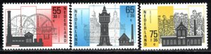 Netherlands Scott # B626 - B628, mint nh
