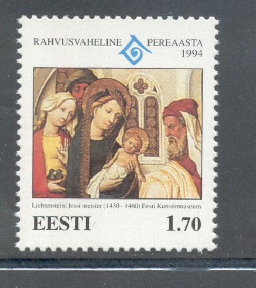 Estonia Sc 281 1994 Year of Family stamp mint NH