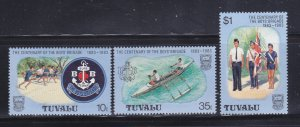 Tuvalu 204-206 Set MNH Boys Brigade (B)