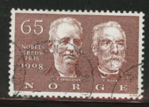 Norway Scott 521 used stamp