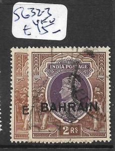 BAHRAIN (P0902B) KGV ON INDIA  1R-2R  SG 32-3  VFU