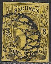 Saxony 12 Used - King John I