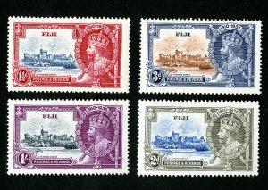 Fiji Stamps # 110-13 VF OG LH