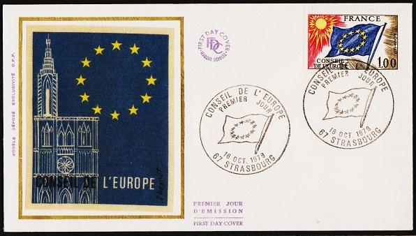 France.1978 Council of Europe.First Day Cover.Fine Used