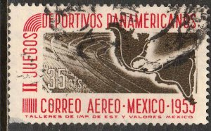 MEXICO C228, 35¢ Second Pan American Games. Used. VF. (1070)