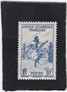 French West Africa #36  unused