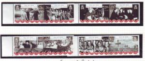 Isle of Man Sc 1087-0 2005 WWII anniv stamp set mint NH
