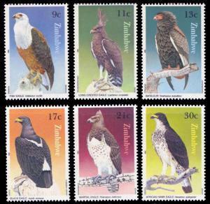 Zimbabwe 1984 Scott #481-486 Mint Never Hinged