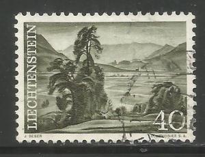 LIECHTENSTEIN, 340, USED, VIEW FROM SCHELLENBERG