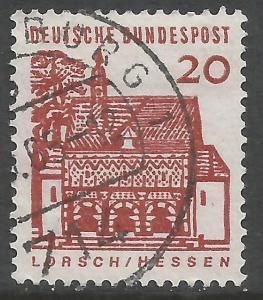 GERMANY 905 VFU Z2970-5