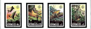 Seychelles 479-82 MNH 1981 Flying Foxes