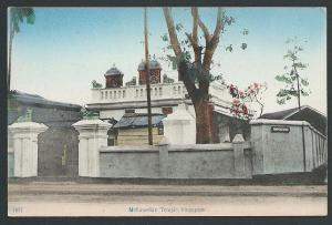 SINGAPORE c1910 postcard MOHAMEDAN TEMPLE, at Kampong Bugis................46841