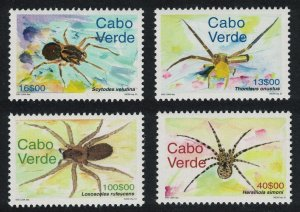 Cape Verde Spiders Insects 4v 2001 MNH SC#770-773 SG#858-861