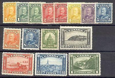 Canada #162-77 Mint VF