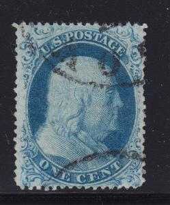 18 VF used neat cancel with nice color cv $ 550 ! see pic !